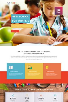 Teddy Academy - Primary School Elementor WordPress Theme
