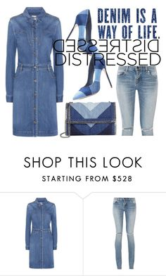 """Untitled #4563"" by julinka111 ❤ liked on Polyvore featuring STELLA McCARTNEY and Yves Saint Laurent"