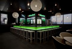 Heineken Lounge by UXUS , via Behance