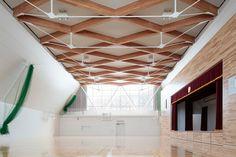 Junior high school inKyogoku /atelier bnk | MdA · MADERA DE ARQUITECTO