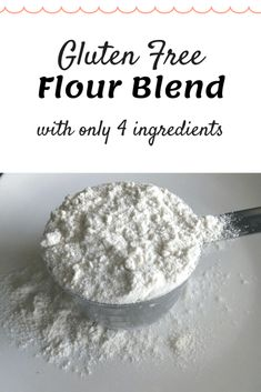 Gluten free flour blend that is seriously easy delicious and more cost efficient than most store bought brands! Gluten free flour blend that is seriously easy delicious and more cost efficient than most store bought brands! Gluten Free Diet Plan, Vegan Gluten Free, Gluten Free Flour Mix, Gluten Free All Purpose Flour Mix Recipe, Pan Sin Gluten, Bon Dessert, Muffins, Gluten Free Living, Foods With Gluten
