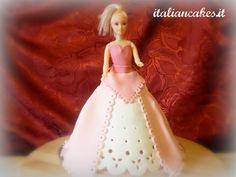 Barbie in pasta di zucchero - Sugarpaste barbie