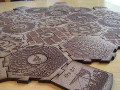 Custom Catan Boards by CustomCatanBoards on Etsy, $59.00