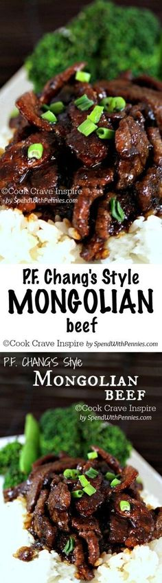 PF Changs style Mongolian beef! This is easy to make and delicious! Perfect for a quick weeknight meal!