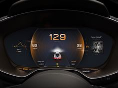 New Design in Car Dashboard No.2 by Yo.Jia