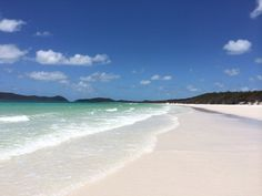 Whitehaven Beach in Whitsunday Island, Australia