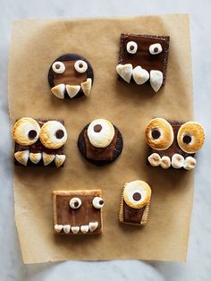 Super-Creepy (But Still Kinda Cute!) Halloween Snacks It will be hard NOT to play with this food.