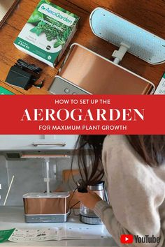 tips and tricks for setting up the aerogarden harvest for maximum plant productivity! indoor gardening is so much fun especially when you like to cook. grow your own herbs, tomatoes, peppers, flowers and more - and set up the aergoarden right from the beginning with this tutorial! #aerogarden #indoorgardening #hydroponics #aerogardenreviews #herbgarden Amazon Home Decor, Apartment Hacks, Shopping Places, Plant Growth, Living In New York, Indoor Gardening, Small Space Living, Hydroponics, Productivity
