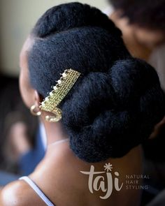 If youre a natural hair bride-to-be chances are youve already started scanning the internet for the perfect wedding hairstyle for your big day and we can imagine your excitement and - September 29 2019 at Natural Hair Wedding, Natural Wedding Hairstyles, Natural Hair Updo, Natural Hair Care, Natural Hair Brides, Natural Dreads, African Hairstyles, Afro Hairstyles, Black Hairstyles