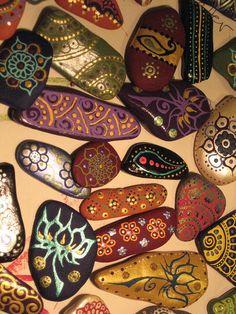 IMG_2641Painted Lake Champlain Stone Magnets