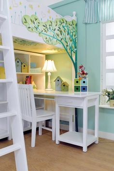 Paint the bed frame. | 14 Creative Ways To Paint Your Kid's Room