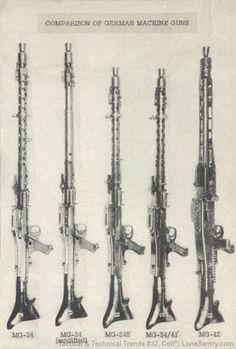 [WWII German Machine Guns, MG-34 and MG-42]