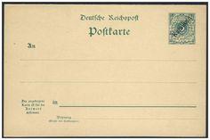 German Colonies, DP-Karolinen 1900, 5 Pfg.-GA-Doppelkarte, ungebraucht Pracht (Mi.-Nr.P 6/Mi.EUR 225,--). Price Estimate (8/2016): 60 EUR.
