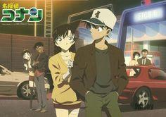 Shinichi & Ran; Heiji & Kazuha; Takagi & Sato