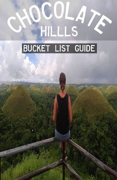 The Chocolate Hills are a very strange geological formation with more than 1000 cone-shaped hills. How to get to the Chocolate Hills Bohol Philippines, Philippines Travel, Travel Guides, Travel Tips, Chocolate Hills, Book Corners, Group Travel, Travel Memories, Yoga Retreat