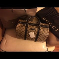 de26e41af9a4 Authentic Gucci Cristal Boston handbag! NWT !!! This bag is brand new