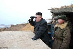 US warship sails within 'striking distance' of North Korea as Donald Trump slams tyrant Kim Jong Un's failed ballistic missile test amid fears of all-out nuclear war Admin Jokes, Kim Jong Un, Nuclear Test, Military Memes, Korean Peninsula, Funny Statuses, Funny Memes, Private Eye, World Leaders