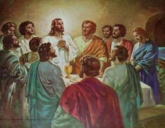 """April 15th - John 6:52-59: The Jews quarreled among themselves, saying, """"How can this man give us his Flesh to eat?"""" Jesus said to them, """"Amen, amen, I say to you, unless you eat the Flesh of the Son of Man and drink his Blood, you do not have life within you. Whoever eats my Flesh and drinks my Blood has eternal life, and I will raise him on the last day."""