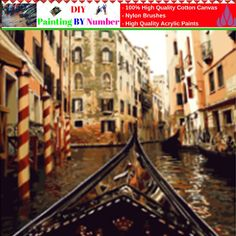 """DIY Painting By Number – Venice (16""""x20"""" / 40x50cm)     Tag a friend who would love this!     FREE Shipping Worldwide     Buy one here---> https://artgiftworld.com/diy-painting-by-number-venice-16x20-40x50cm-3/"""