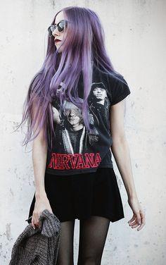 Soft grunge nirvana shirt http://LuckyMelli.com