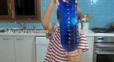 Make a jellyfish in a bottle for an Under the Sea Theme