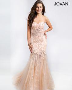Style 20325 http://www.jovani.com/prom-dresses/strapless-mermaid-prom-dress-20325