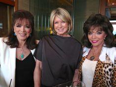 With Martha Stewart and Joan