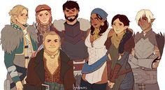 Dragon Age II by lyndraws