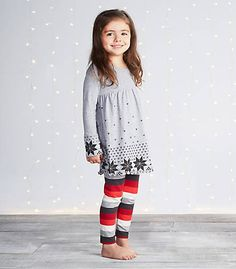 Kids Fair Isle Dress & Legging Set - Burts Bees Baby
