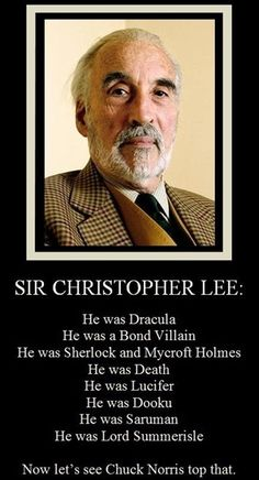 Christopher Lee witnessed the last guillotine execution in France! - OMG Facts - The World's #1 Fact Source