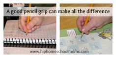 A Good Pencil Grip Can Make All The Difference. Fabulous article with lots of great tips to help our children enjoy the 'handwriting' process more. Handwriting Activities, Improve Your Handwriting, Best Pencil, Pencil Grip, How To Start Homeschooling, Pre Writing, Too Cool For School, Teaching Tips, Tot School
