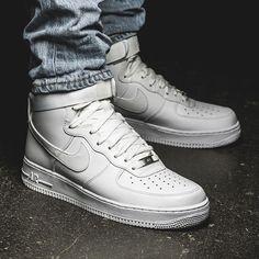 Nike Air Force 1 High '07 (weiß / weiß) - 43einhalb Sneaker Store Fulda