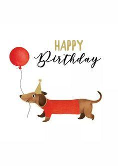 Dog And Puppies Drawings .Dog And Puppies Drawings Birthday Wishes Cards, Happy Birthday Messages, Happy Birthday Images, Happy Birthday Greetings, Happy Birthday Dachshund, Dog Birthday, Arte Dachshund, Dachshund Love, Daschund