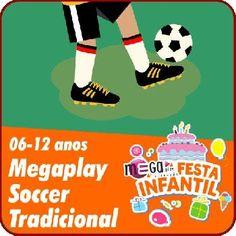 """Se (a) aniversariante é ligado(a) no mundo do futebol esta é a festa. Com campeonatos de futebol em atividades de desafios, perguntas e respostas sobre o mundo de futebol, com certeza ele(a) e seus convidados vão se divertir muito.  A festa ainda conta com:  Recepção festiva com os monitores caracterizados de """"esportistas"""" e uma Super Gincana de Circuito.  #megafestainfantil #festaparameninos #futebol #tradicional #animadoresatenciosos #festadivertida #animaçãoinfantil #festaemcasa"""