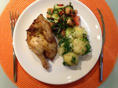 "Get It Cooked: Mini chicken with ""Shepherd"" salad and new potatoe. Dill Recipes, Snack Box, Budgeting Money, Dance Moms, Disney Planes, Recipe Recipe, Snacks, Direct Sales, Chicken"