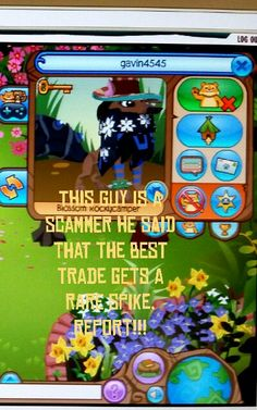 SCAMMER!!!! REPORT ON ANIMAL JAM. #AJis4KidsNot4Scammers #LetsStopScammersAJ