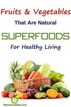 Nature is full of hundreds of natural superfoods. Find out why these fruit and vegetable supplements are considered as natural alternative to superfoods Sea Vegetables, Organic Fruits And Vegetables, Organic Greens Powder, How To Cook Broccoli, Best Protein Powder, Green Superfood, Best Fruits, Weight Loss Snacks, Eating Clean