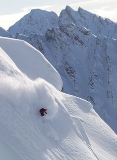Heli Skiing the Chugach Mountains, Alaska