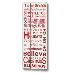 Christmas - sisustustaulu - http://sisustusullakko.com/tuote/christmas-sisustustaulu