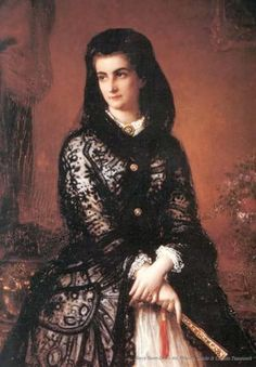 Maria Sophie, Queen  of the Two Sicilies, (sister of Empress Sisi of Austria). Repinned by www.gorara.com