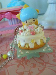 【????】Kiki Cake Necklace ★Little Twin Stars★
