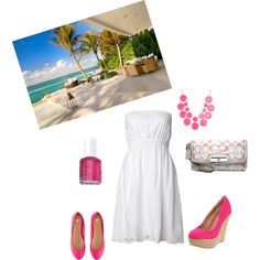 Perfect Vacation outfit,created by mirapaigew