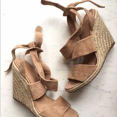 MADISON HARDING WEDGES USED BUT STILL IN GREAT SHAPE! Madison Harding Shoes Wedges