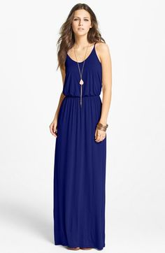 I want this dress. Lush Knit Maxi Dress (Juniors) available at Nordstrom
