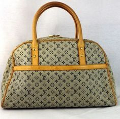 Louis Vuitton Marie Blue Bag - Satchel 71% off retail
