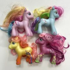 MLP My Little Pony G3 Lot Ponies Collectible Kids 2000s Toys