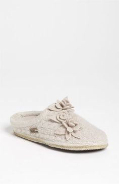 Haflinger 'Romantic Flowers' Slipper on shopstyle.com