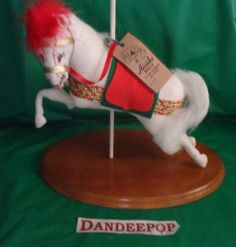 Annalee Noel The Carousel Horse doll 2841 New Holiday collectible find me at www.dandeepop.com