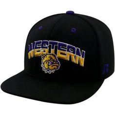 56e86bf2b7a University Of Western Illinois Leathernecks Flatbill Baseball Cap