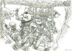 Rabbit Devgru - By Kim Jung Gi